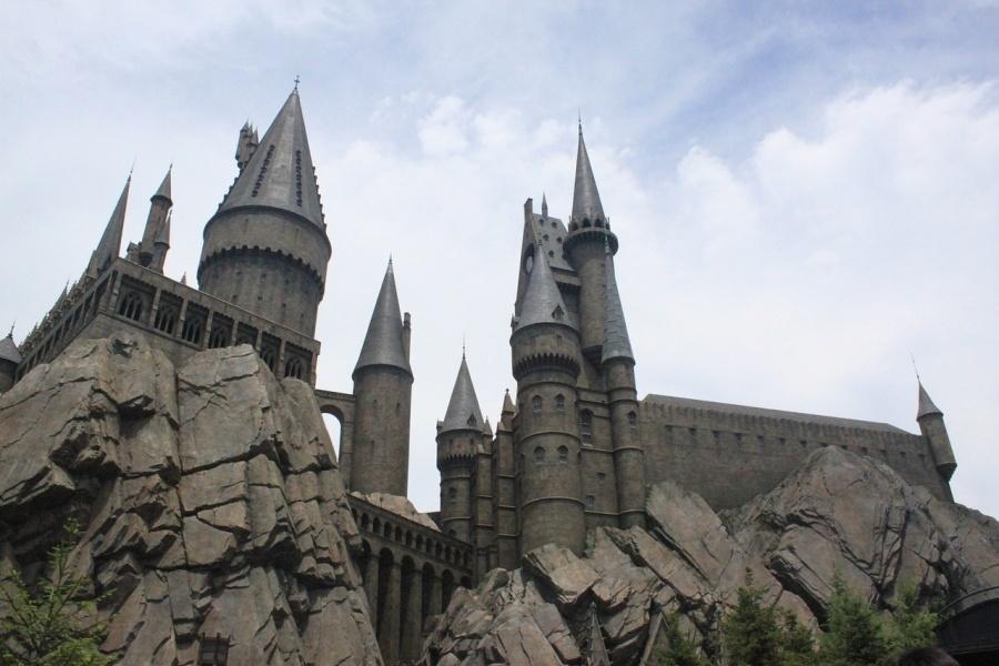 zamek hogwart harry potter - drugi raz