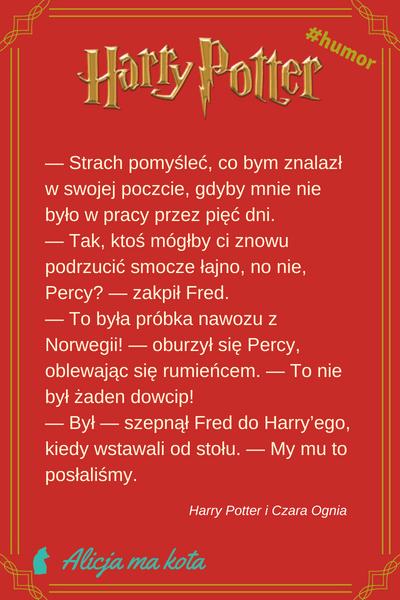 Fred Weasley i George Weasley - cytat