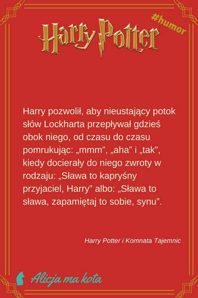 Harry Potter i Komnata Tajemnic - cytat