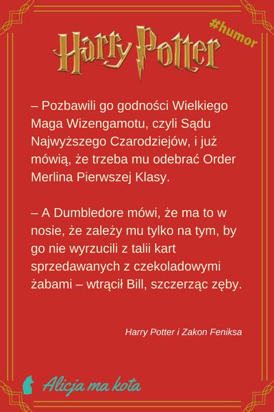 Harry Potter cytat