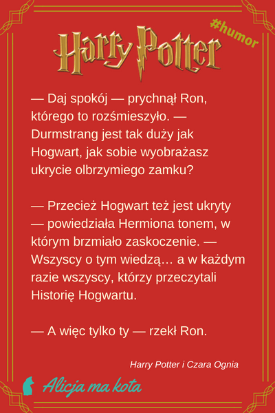 Śmieszne cytaty - Ron Weasley