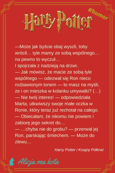 Ron - najlepsze żarty Weasleya