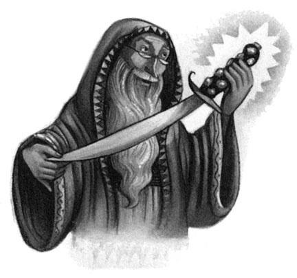 cytaty harry potter - dumbledore i miecz gryffindora