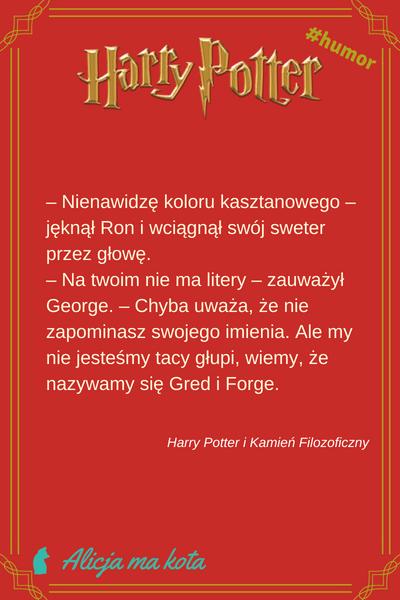 Cytaty bliźniaków Weasley