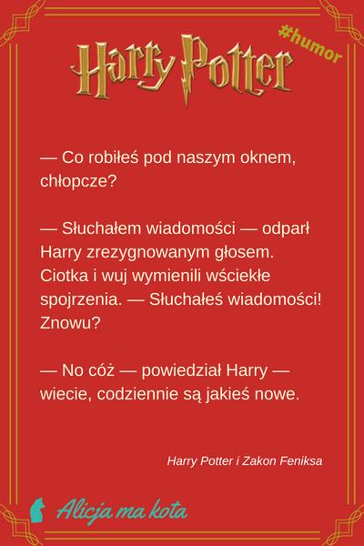 Najśmieszniejsze żarty Harry'ego Pottera