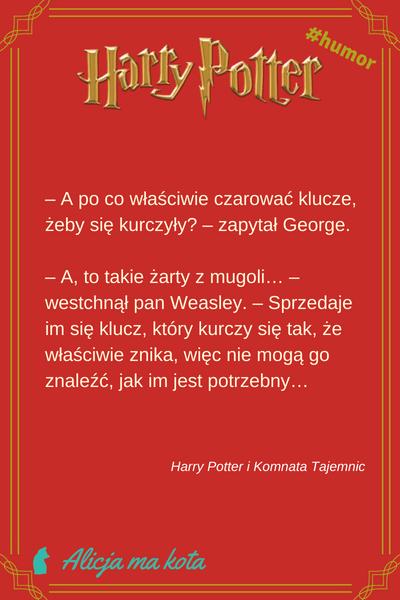 Cytaty z Harry'ego Pottera i Komnaty Tajemnic
