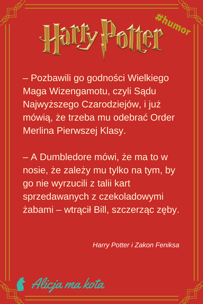 Harry Potter cytat