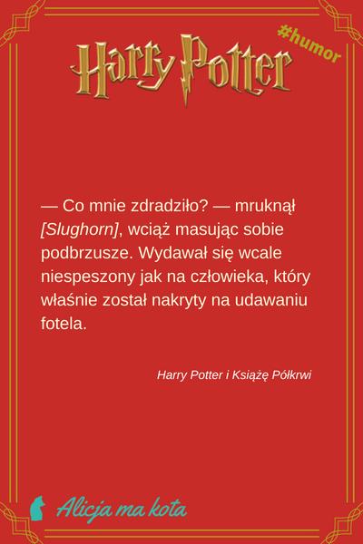 zabawne cytaty - Harry Potter i Książę Półkrwi