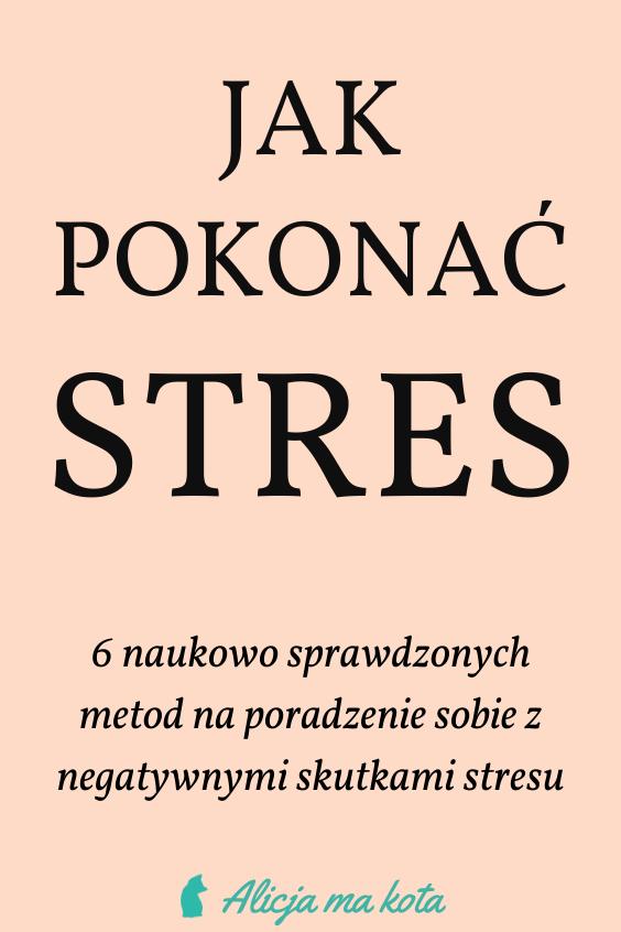 Sposoby na walkę ze stresem
