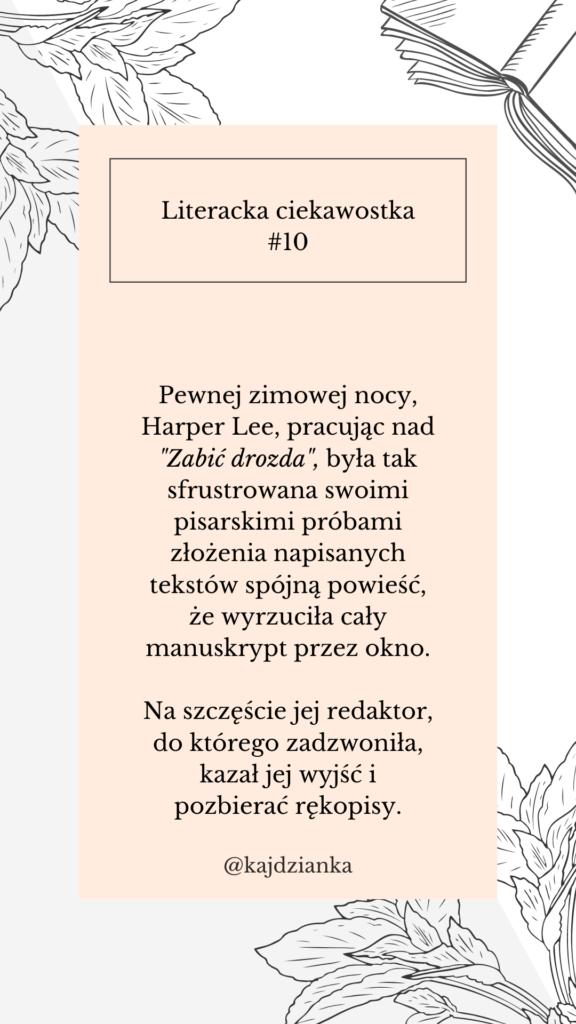 Ciekawostki literackie - @kajdzianka