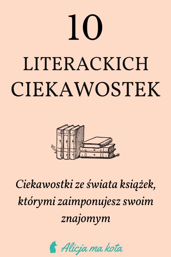 Książkowe ciekawostki